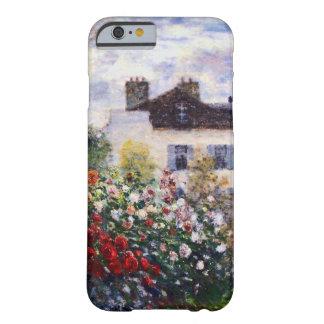 Un coin du jardin avec des dahlias par Monet Coque Barely There iPhone 6