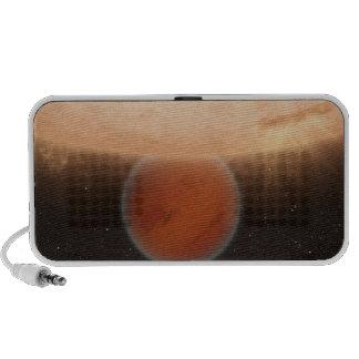 Un concept des artisti haut-parleurs portables
