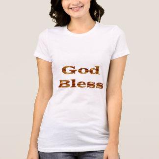 Un DIEU bénissent - le meilleur cadeau de manuscri T Shirts