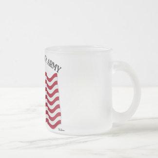 Un DIEU BÉNISSENT NOTRE ARMÉE avec le drapeau des  Mugs À Café