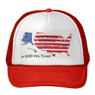 Un DIEU bénissent… une nation… que nous faisons co Casquettes De Camionneur