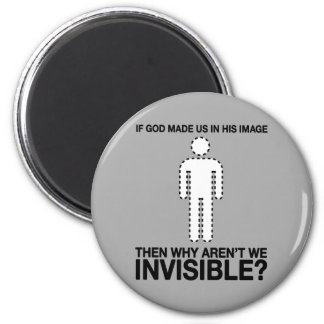 un dieu nous avons-nous faits dans son image, pour magnets pour réfrigérateur