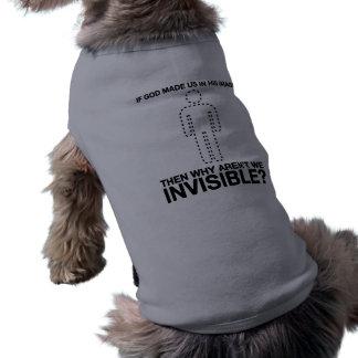 un dieu nous avons-nous faits dans son image, pour tee-shirt pour chien