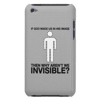 un dieu nous avons-nous faits dans son image, pour coque barely there iPod