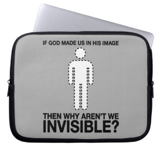 un dieu nous avons-nous faits dans son image, pour housse ordinateur portable