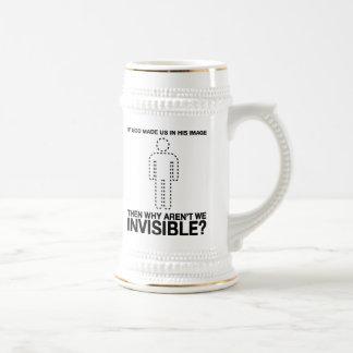 un dieu nous avons-nous faits dans son image, pour mug à café