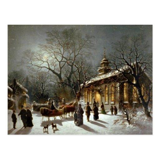 Un endroit pour Noël Cartes Postales