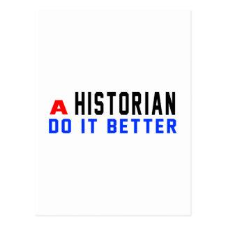 Un historien il améliorent cartes postales