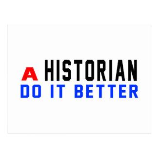 Un historien il améliorent carte postale