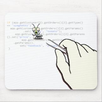 Un jour dans la technologie de la programmation tapis de souris