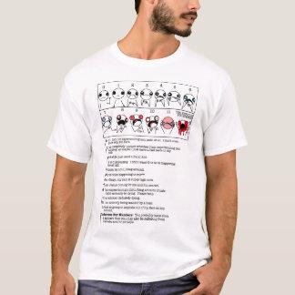 Un meilleur diagramme de douleur t-shirt