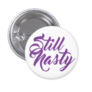 Un mini bouton toujours de femme méchante macaron rond 2,50 cm