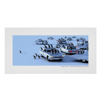 Un pingouin, sinon rien ! - T-Birds on ice Poster