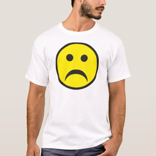 Un-smiley Face Rave Dance Cartoon T-Shirt