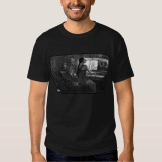 Un T-shirt triste de chanson