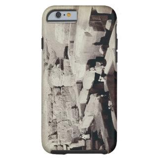 Un temple excavé au pied du sphinx, 4ème coque iPhone 6 tough