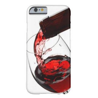 Un verre de vin rouge coque iPhone 6 barely there