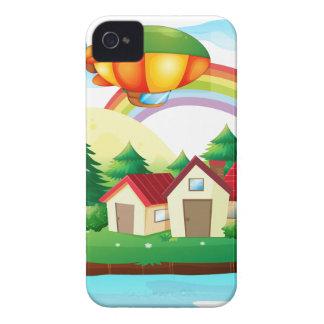 Un village en île coque iPhone 4 Case-Mate