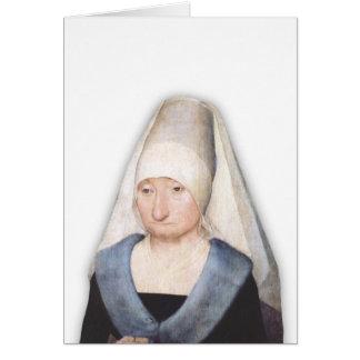 Una Dama Card