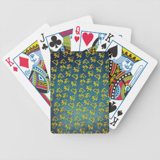 Unacorni and Cheese Bicycle Playing Cards