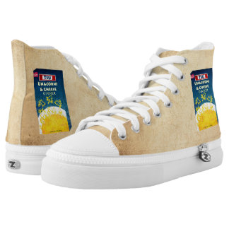 Unacorni and Cheese High Tops