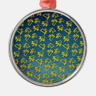 Unacorni and Cheese Metal Ornament