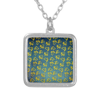 Unacorni and Cheese Silver Plated Necklace