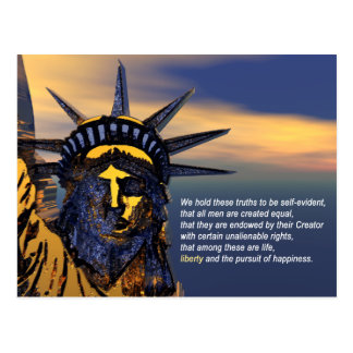 Unalienable Rights Postcard