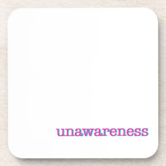 Unawareness.  60's edition. coaster