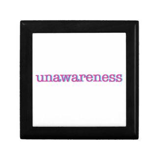 Unawareness.  60's edition. gift box