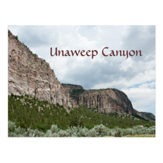 Unaweep Canyon Postcard