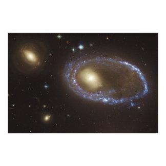 Unbarred Lenticular Ring Galaxy AM 0644-741 Art Photo