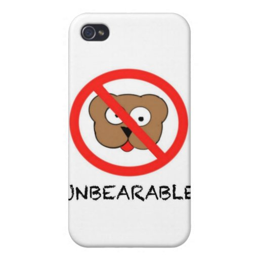 Unbearable iPhone 4 Covers