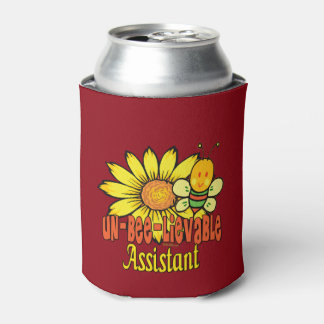 Unbelievable Assistant with Bumblebee Can Cooler