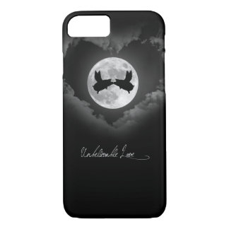 Unbelievable Love-Flying Pigs Kissing iPhone 8/7 Case