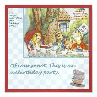 Unbirthday Party Card