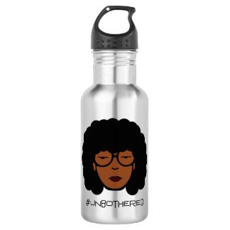 Unbothered Metal Water Bottle