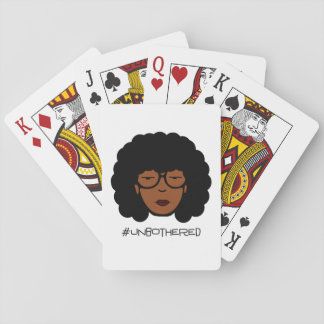 Unbothered Playing Cards