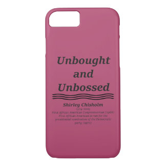 Unbought and Unbossed iPhone 8/7 Case