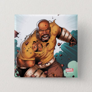 Unbreakable Luke Cage 2 Inch Square Button