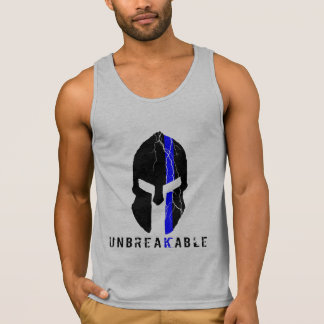 Unbreakable Spartan Thin Blue Line