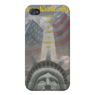 unbreakable spirit iPhone 4/4S case
