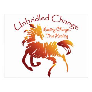 Unbridled Change Postcard