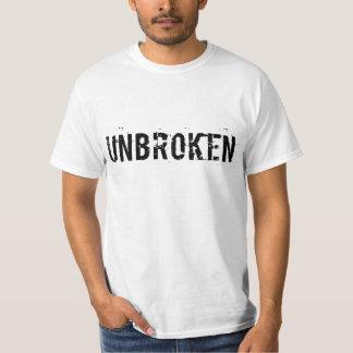 Unbroken White Tee