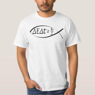 Uncertainty Principle Jesus Fish Shirt
