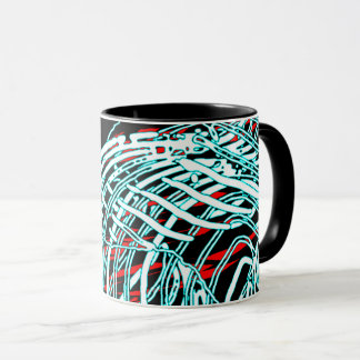 """Uncertainty Schematic"" Mug"