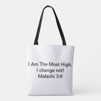 Unchanging Word of God Tote Bag