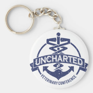 Uncharted Veterinary Conference Basic Round Button Keychain