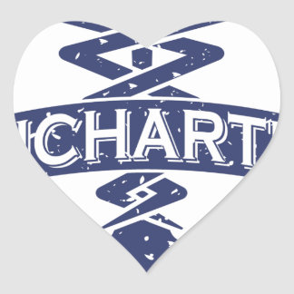 Uncharted Veterinary Conference Heart Sticker