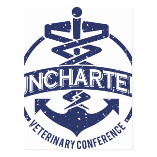 Uncharted Veterinary Conference Postcard